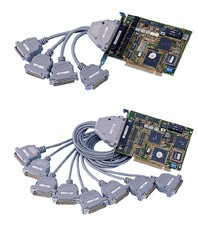 C518/C514 Industry Intelligent 8/4-port Serial Communications Cards